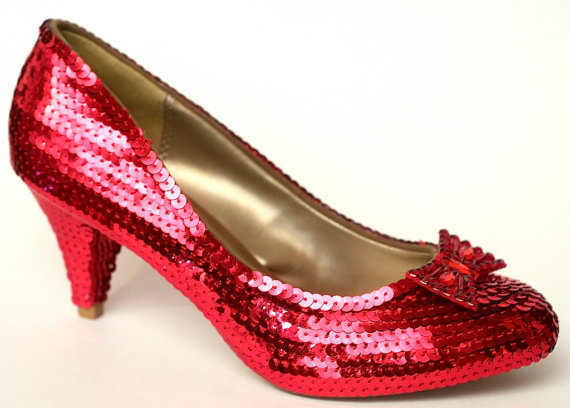 Ruby Slippers made for you