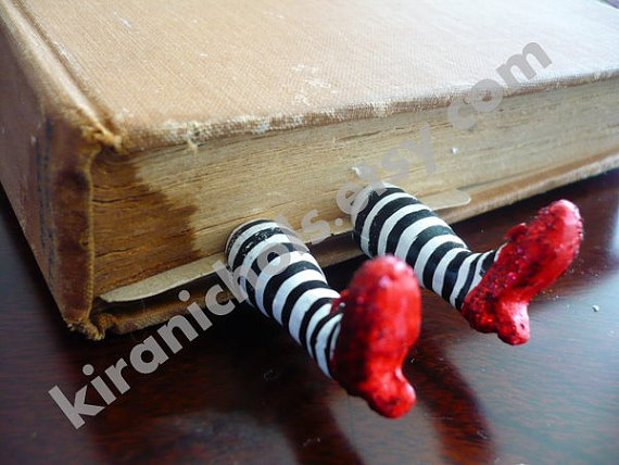 Wicked Witch and Ruby Slippers Bookmark